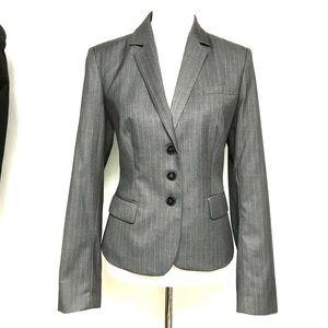 "The classic Calvin Klein ""menswear"" blazer"